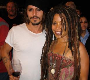 Johnny Depp and Angela Meryl - Pirates of the Caribbean