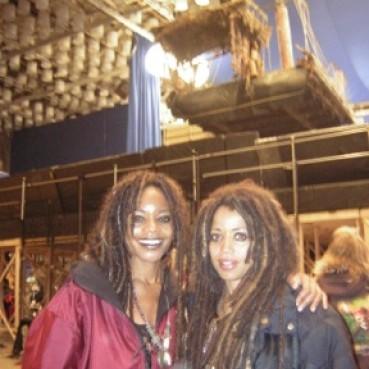 Stunts5 - Naomi  Harris & Angela Pirates